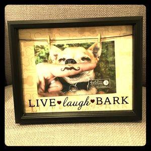 Frame for dog pic